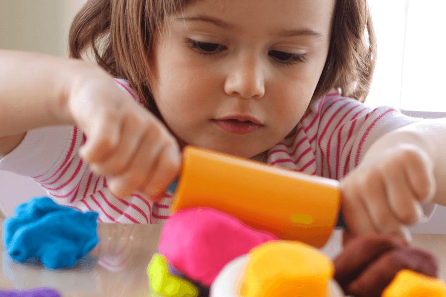 how to bake playdough