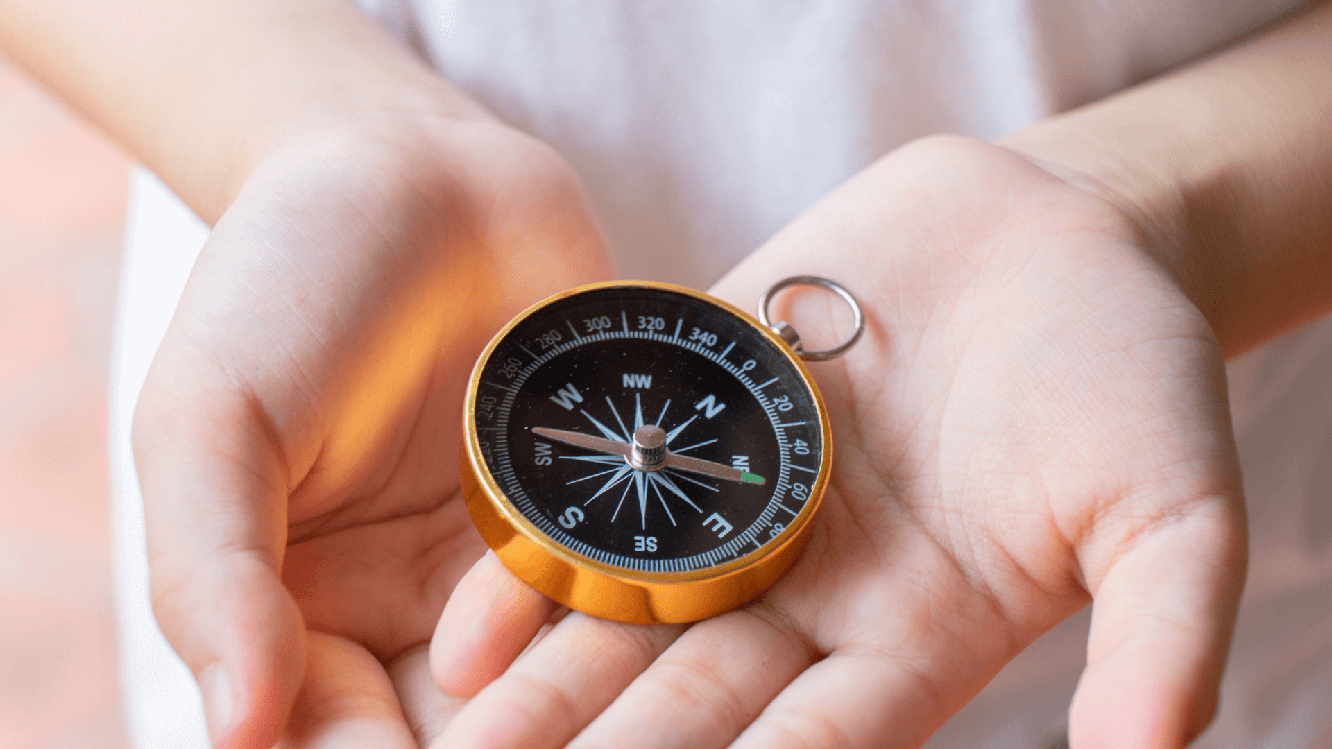 how to craft a compass for kids