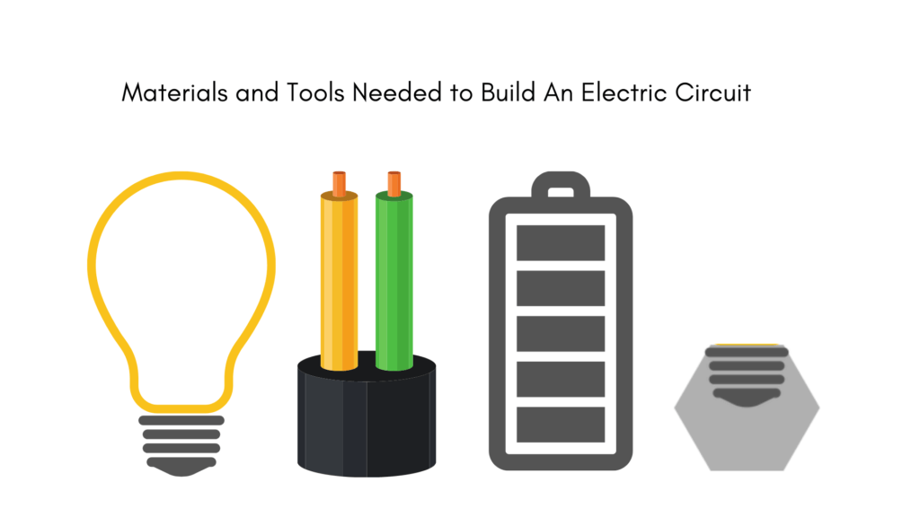 How to build an electric circuit materials