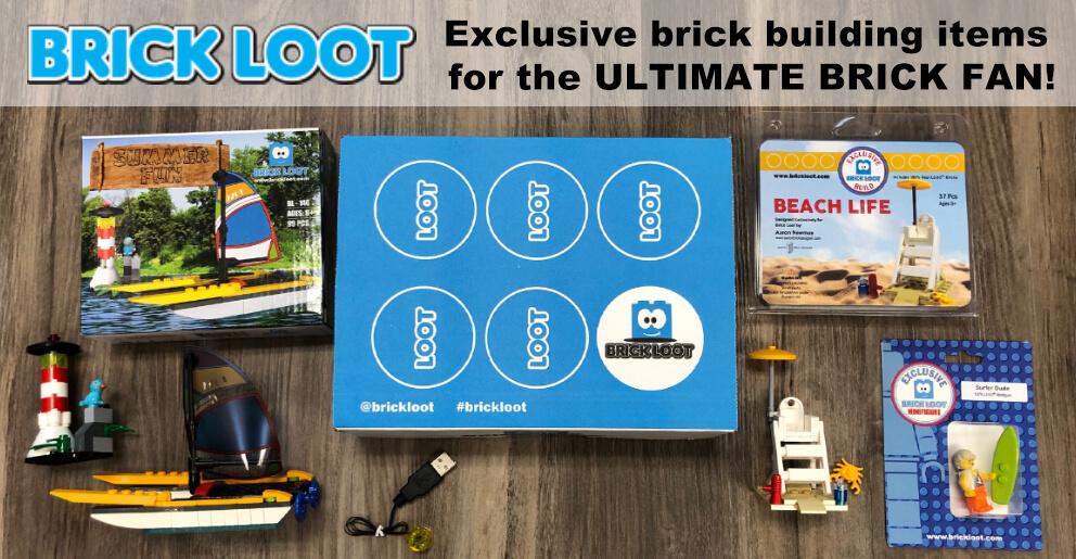 LEGO Subscription Box Brickloot