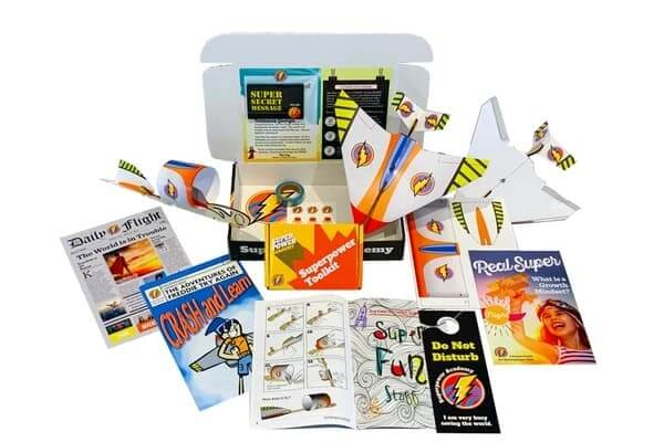 Superpower Academy STEM Subscription Box