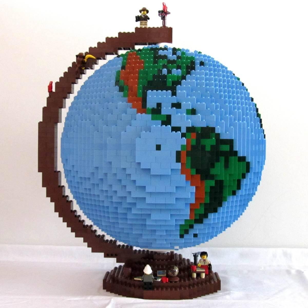 LEGO Earth Globe