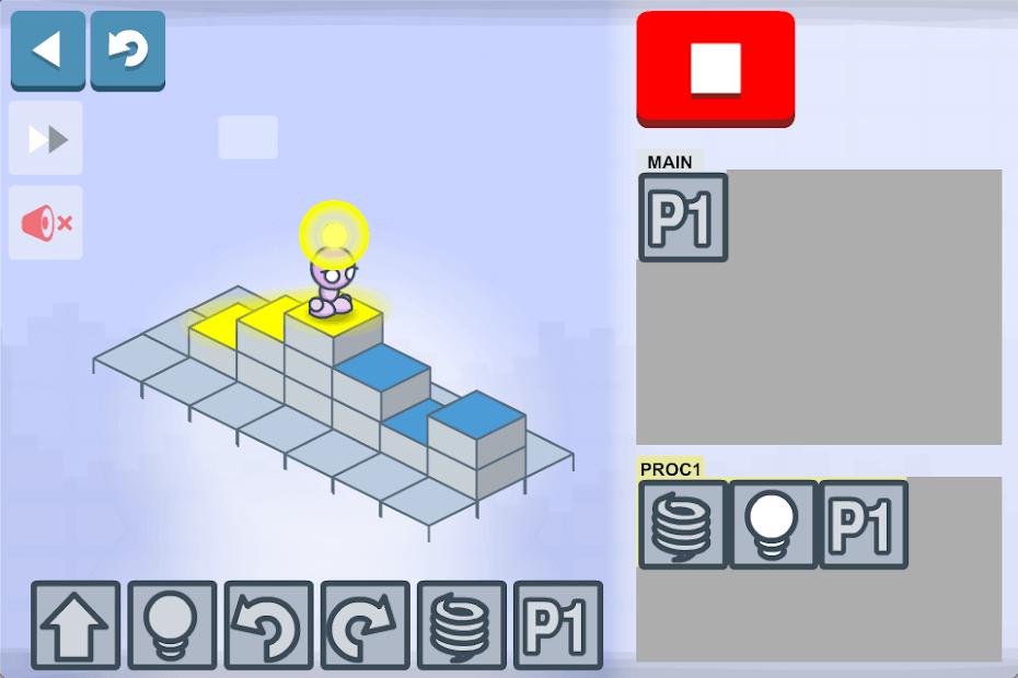 Lightbot Jr. Coding App