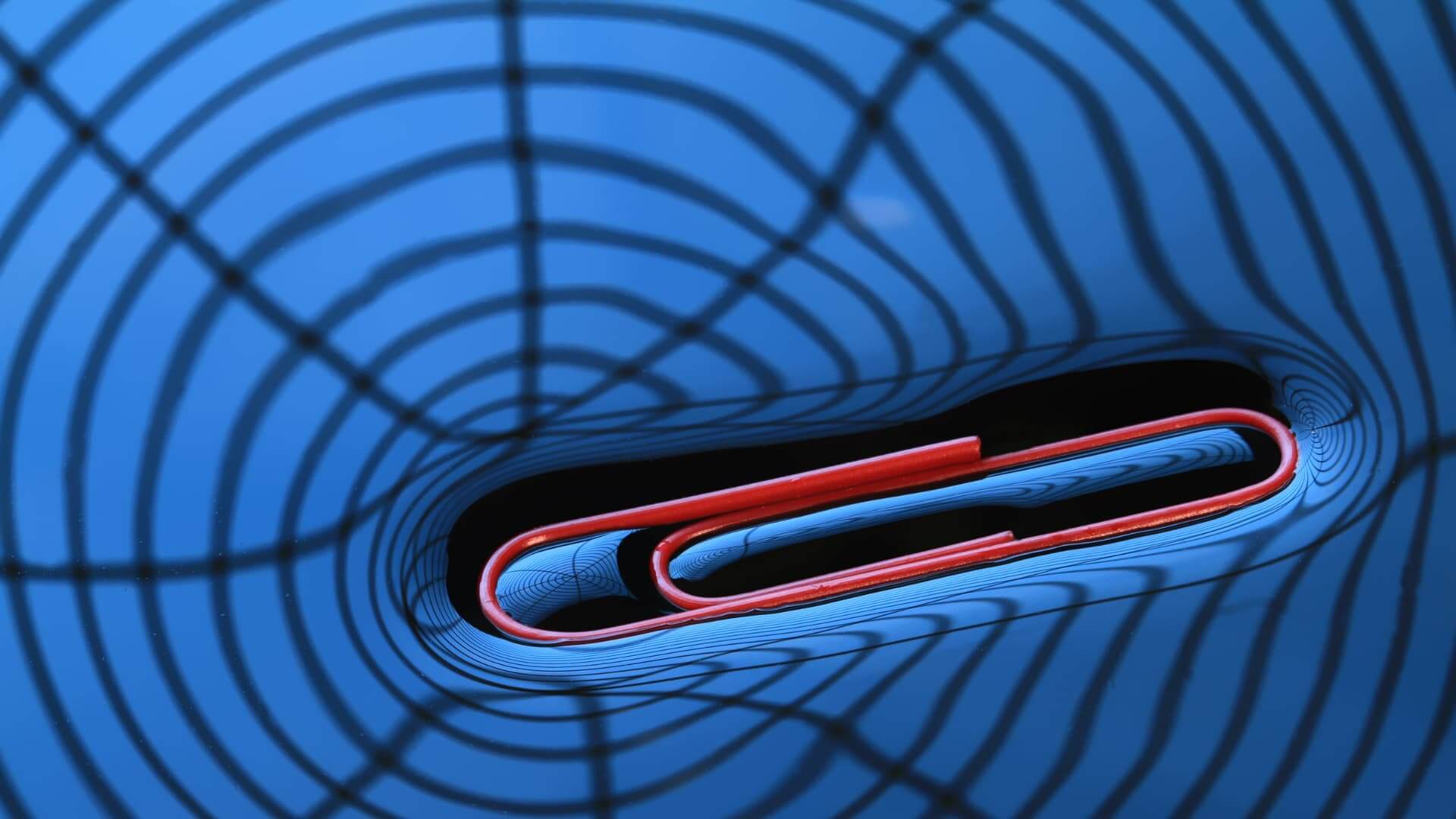 surface tension paperclip