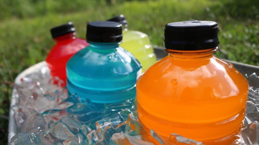 sports drinks with electrolytes